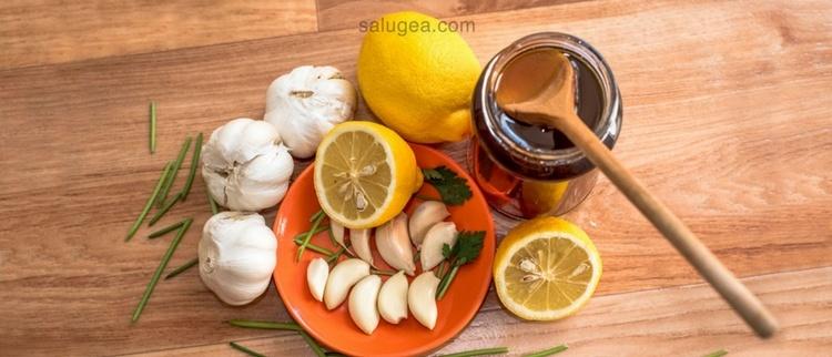 aglio miele e limone