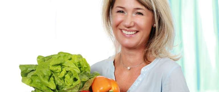 alimentazione per la menopausa