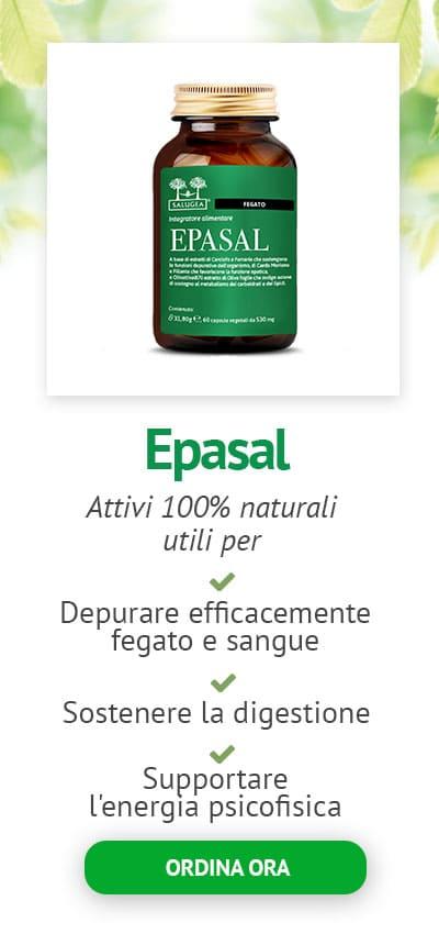 Epasal Salugea prodotto detox