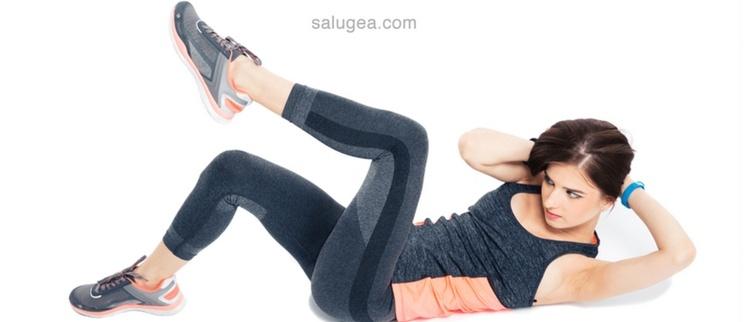 addominali laterali per eliminare la cellulite