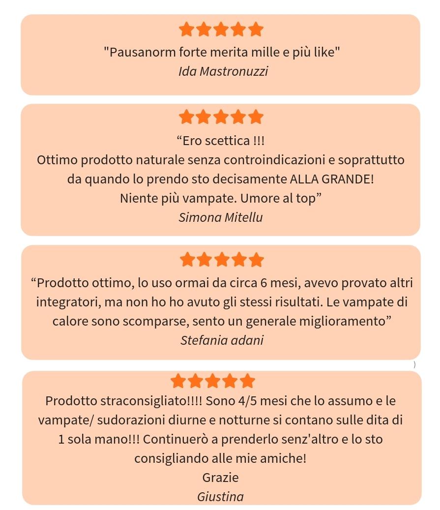 recensione su Pausanorm Forte