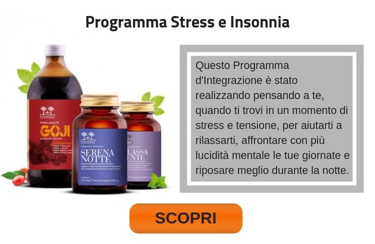 Programma Stress e Insonnia