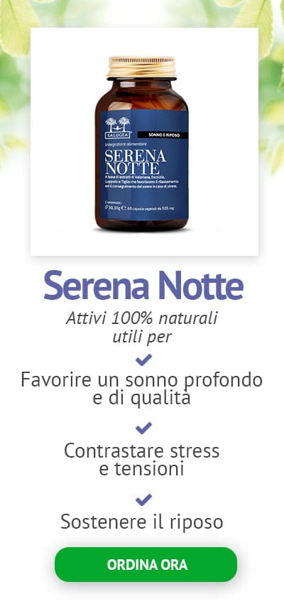 Serena Notte Integratore per Dormire bene