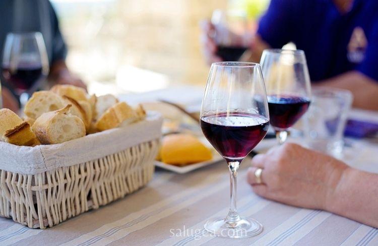 colesterolo e vino