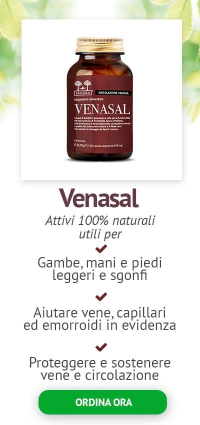 Integratore Venasal Salugea per la circolazione sanguigna