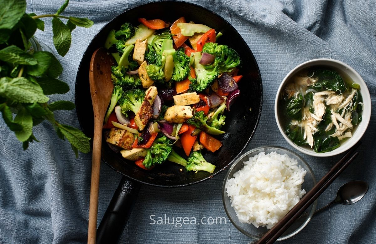 tofu in cucina